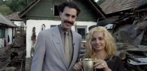 Borat and the number 4 prostitute in Kazakztan - Its Niice