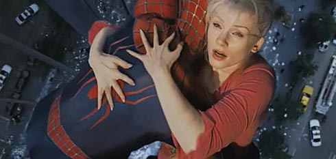 Gwen Stacy och Spider-Man
