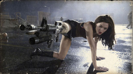 Rose McGowan i Planet Terror