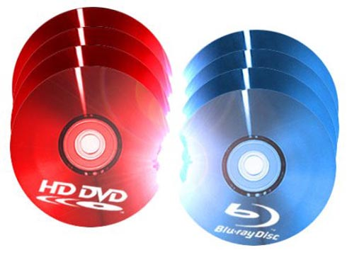 HD DVD Blu Ray