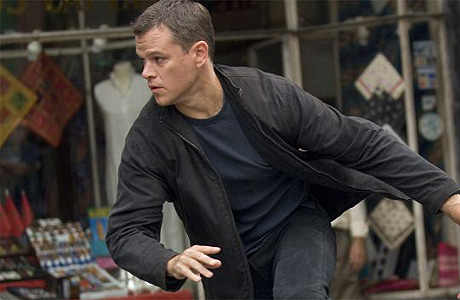 Matt Damon som Jason Bourne