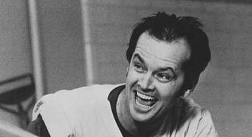 Jack Nicholson - One flew over the Cuckoos Nest