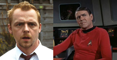 Simon Pegg som Scotty