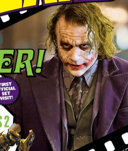 Heath Ledger as The Joker in Christopher Nolans The Dark Knight