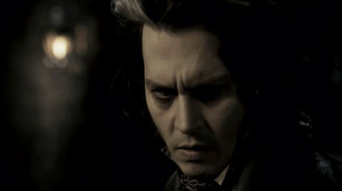 Johnny Depp i Sweeney Todd