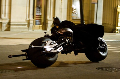 Batman on the Batpod