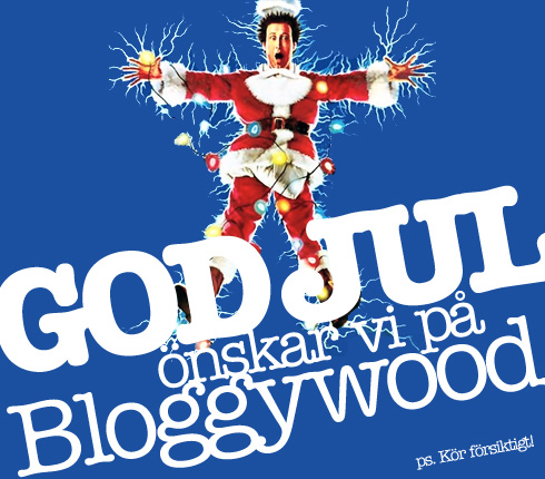 God Jul önskar vi på Bloggywood