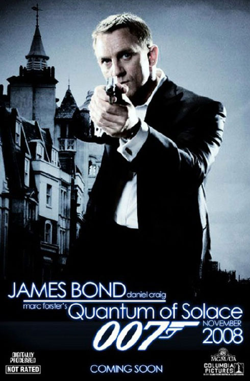Poster till Quantum of Solace