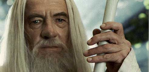 Ian McKellen, Gandalf Wide Header