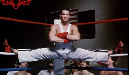Jean Claude Van Damme i No Retreat, No Surrender