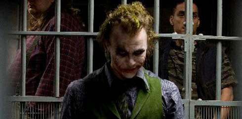 Heath Ledger som The Joker