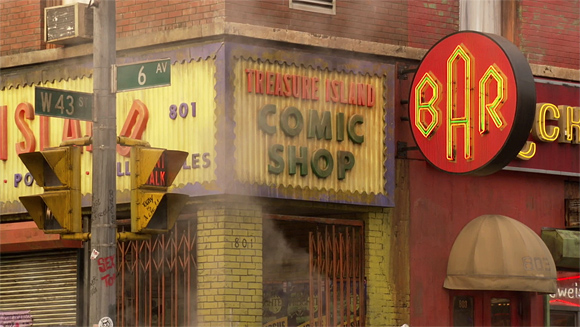 New York City - Treasure Island Comic Shop: